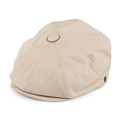 mütze aus Baumwolle - Beige - XXL (Herren Sommer Newsboy Hüte Xxl)
