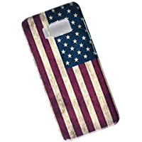 Samsung Galaxy S8 Protective Slim Case. Tasche Cover. Flag of the United States. USA Flag.