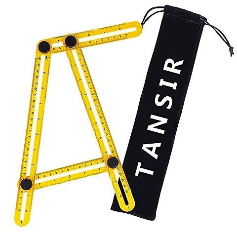 Angleizer Multi Template Tool Angle Measuring Ruler - Measure Any