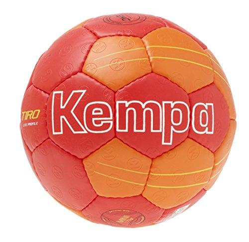 Kempa tiro Lite Profile–Balón de balonmano infantil tamaño 00Rojo Rojo/Shock Rojo/Amarillo, 00