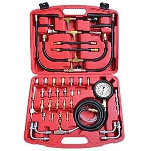 jago kit iniettore motore a benzina pressione carburante kit tester pressione auto e. Black Bedroom Furniture Sets. Home Design Ideas