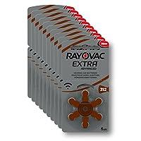 Rayovac Extra 312 No 6'lı Kulaklık Pili 10'lu Ekonomik Paket