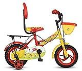#4: Hero Joy Steel Single Speed Bike, Kids 12T (Red/Yellow)