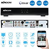KKmoon 4 canali 960H CCTV DVR Videoregistratore H. 264 HDMI Video Recorder Rilevamento del Movimento