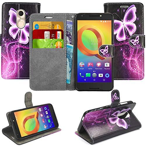 Blueenza Alcatel A3 Plus 3G 5011A - Funda de Piel Tipo Libro con Tapa y  Protector de Pantalla para Samsung Galaxy S3 Mini