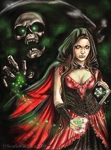 Editions Ricordi 5801N30036 - Puzzle de 1000 Piezas del Cuadro Scarlet Gothica: Absenta