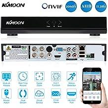KKmoon 4CH Canales AHD DVR/ HVR/NVR Full 1080N/720P (Grabador de