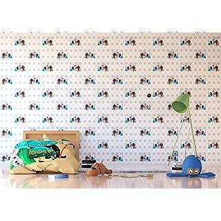 AG Design Disney Frozen, Vlies-Tapete, 0,53x10,05 m-1 Rolle, Multicolor 0,1 x 53 x 10, cm