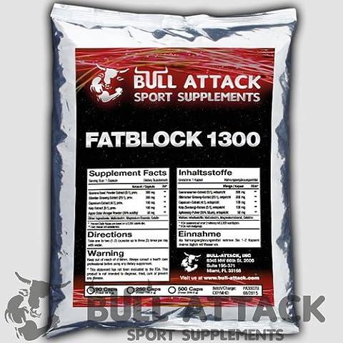 250 x Carb Fat Blocker Fat Binder Diet Pills Weight Loss Supplements - 250 Capsules - FATBLOCK 1300 - 1st Class