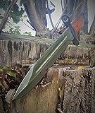 russisches AK-47 (AK47) CCCP Bajonett - klassisches Militär Bajonett - Seitengewehr - Kampfmesser - Jagdmesser - 35cm
