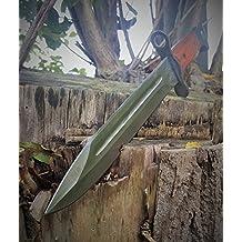 Russo AK-47(baionetta AK47) CCCP–Classico a baionetta–Pagina fucile–coltello da combattimento militare–Coltello da caccia–35cm