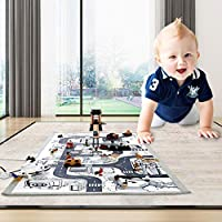 Welcometo Track mats long road mats cotton canvas children