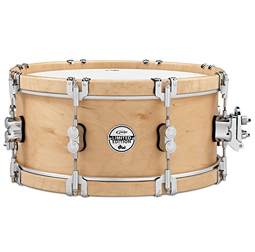 Pacific Drums & Percussion pdsx0614clwh Limited Classic Wood Hoop 15,2x 35,6cm Snare Drum mit Spitzhaken