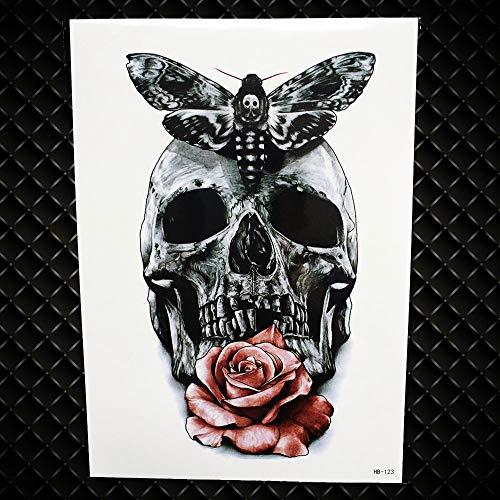 GVDTYKJF Tattoo Aufkleber Gold Mandala Flower Wassertransfer Tattoos Sommer Fake Flash Metallic Golden Tattoos Aufkleber Indian Eagle Chains Ghb123 -