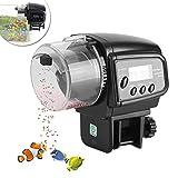 Automatischer Fisch Futterspender Aquarium Auto Fische Lebensmittel Spender Tank Futternapf Maschine LCD Display Elektronische Fisch Futterspender für Fische Tank
