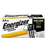 Energizer Alkaline Power-AA-Batterien, 32-Pack