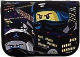 LEGO Bags Federmäppchen, Schüleretui 20 teilig gefüllt, Federmappe mit Lego Ninjago Motiv Team Ninja, Federmäppchen ca. 20 cm