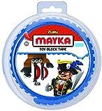 Unbekannt Zuru zu085.00Mayka Spielzeug Block Tape, 1m, farblisch Sortiert