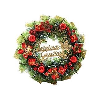 Eruditter-Weihnachtskranz-Deko-Dekogirlande-Weihnachtsrattan-Weihnachtsgirlande-Weihnachtstren-Und-Fenster-Tannenzapfen-Dekoration-Fr-Deko-Weihnachten-Advent-Trkranz
