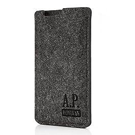 A.P. Donovan – mobile phone case | protective cover | felt bag | felt sock | for iPhone X Max