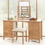 Edward Hopper Large Oak Dressing Table