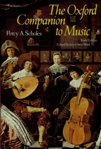 The Oxford Companion to Music (Oxford Reference) (Of Dictionary Dance Oxford)