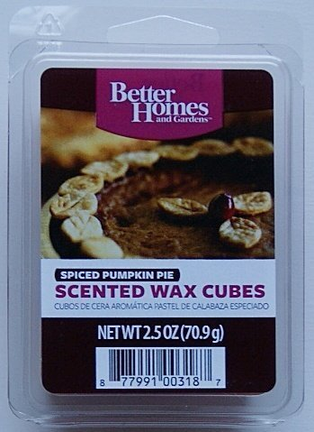 Better Homes and Gardens Spiced Pumpkin Pie Scented Wax Cubes by Better Homes and Garden