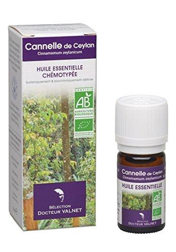 Cannelle de Ceylan Huile Essentielle Bio - 5 ml - Docteur Valnet
