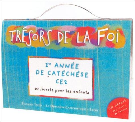 Trésors de la Foi : Pochette enfant - CE2 (10 livrets + 1 CD audio) par Collectif