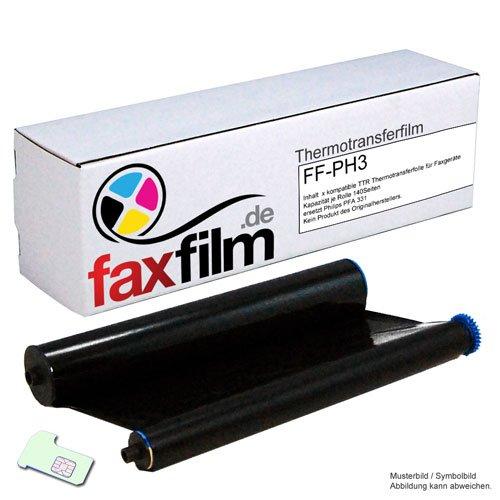 Kompatibler Ink-Film ersetzt Philips PFA331 / PFA-331 / PFA 331 für FAX Philips Magic 3 und Magic 3-2 Serie , Kapazität 140 Seiten -