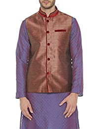 8f1f645dae8e ... Suits & Blazers. Indus Route by Pantaloons Boy's Polyester Blouson  Waistcoat