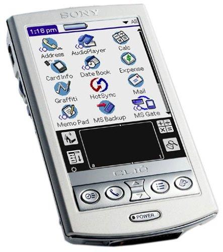 Sony Clié PEG-N770C/E Handheld -
