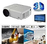 Mini 3D LED 1080P Projecteur Multimedia Vidéoprojecteur Home Cinéma AV,VGA,USB,SD,HDMI