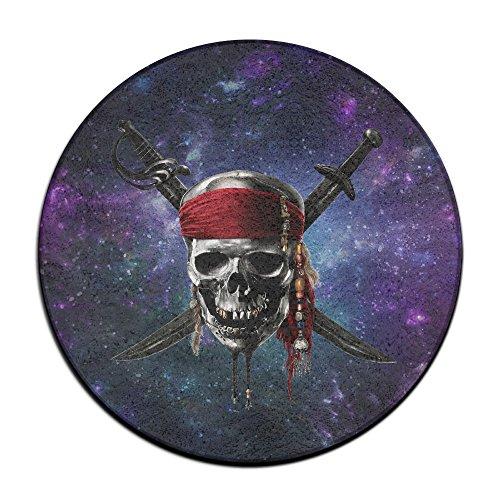 Karibik Totenkopf Piraten Logo Fußmatte ENTRANCE Mat Fußmatte/Front-Teppich Fußmatten (Fluch Outfits Karibik Der)