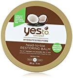 Yes To Coconut Head to Toe Restoring Body Balm, 3 Ounce by Yes To Carrots