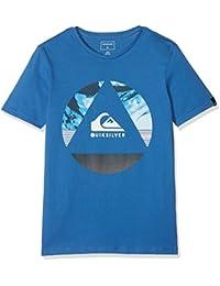 Quiksilver Classic Fluid Turns Camiseta, Niños, Azul (Bright Cobalt-Solid), S/10