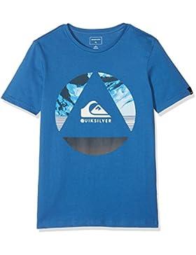 Quiksilver Classic Fluid Turns Camiseta, Niños, Azul (Bright Cobalt-Solid), XL/16