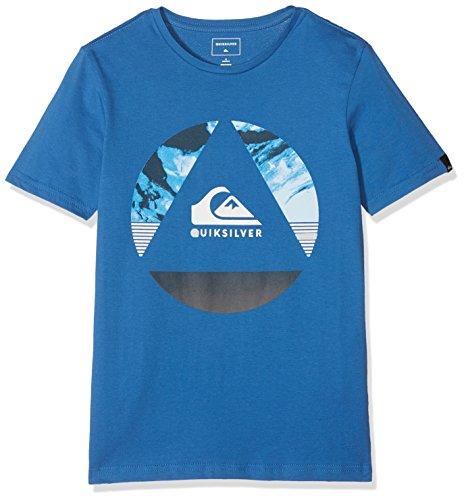Quiksilver Classic Fluid Turns Camiseta, Niños, Azul (Bright Cobalt - Solid), M/12