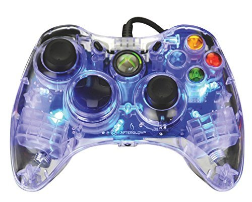 Afterglow Wired Controller for Xbox 360 - Blue (Afterglow Xbox 360-controller)