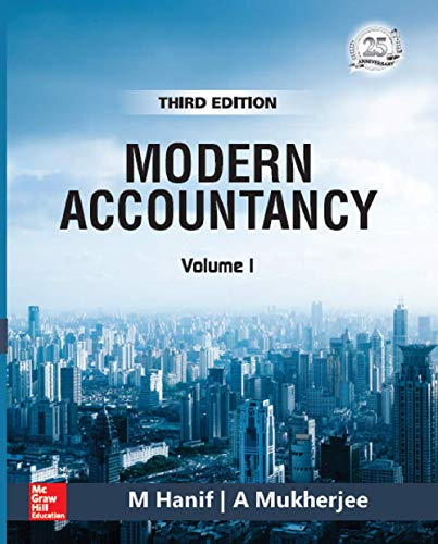 Modern Accountancy - Vol.1