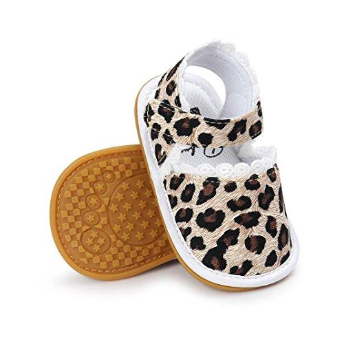 Clode® Bébé Fille Baskets Anti-dérapant Doux Seul Bambin (12~18 mois)