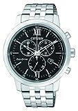 Citizen Herren-Armbanduhr Chronograph Quarz Edelstahl AT2301-82E