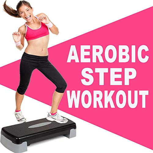 Aerobic Step Workout (The Best Epic Motivation Step Music for Each Aerobic Stepper Class Excercise)