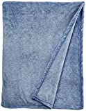 Serta Heather Blanket,Blue Marble,Full/Queen