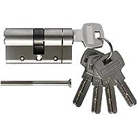 Cilindro antibloqueo SEPOX de cobre de alta calidad, modelo eurocilindro, con llaves de cobre de núcleo de latón, con cierre antigolpes y con 5 llaves