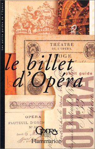 Billet d'Opéra