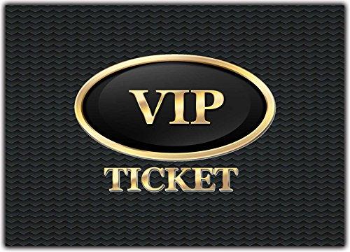 12 x Set VIP Party Einladungskarten Kindergeburtstag ausgefalle Einladung Jungen Mädchen Erwachsene (Zirkus-party-einladungen)