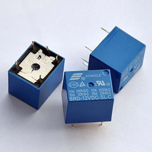 pke 12V PCB MOUNT RELAY (5 Pcs.)