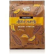 Amazon Brand - Happy Belly Dried Mango, 500 g