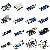 16pcs Sensor Module Board Kit for Arduino Raspberry Pi 3/2 Model B